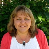 Pfarramtssekretärin Lydia Meyer